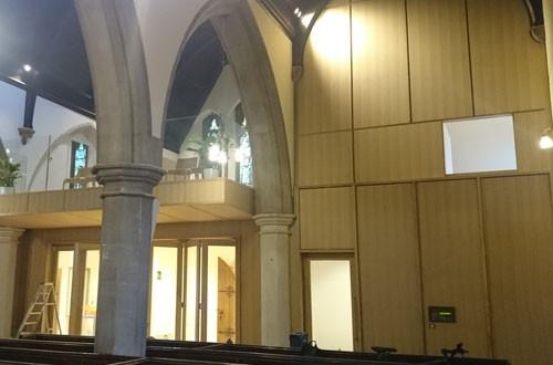 Church-panelling