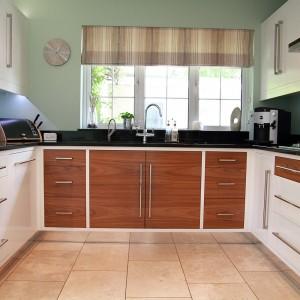 Veneered kitchen