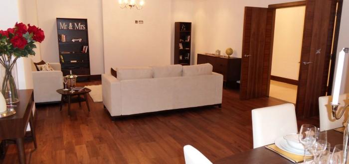 Veneered Apartment Interior