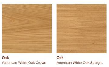 American white oak veneers