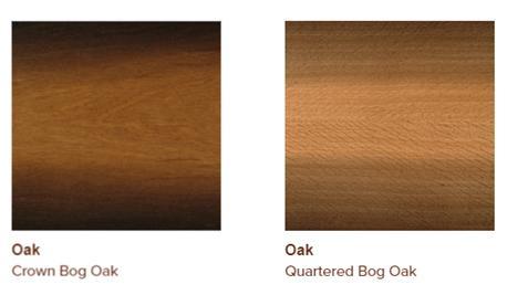 Bog oak veneers