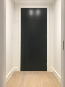 Veneered doors