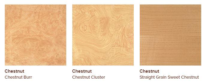 chestnut veneers