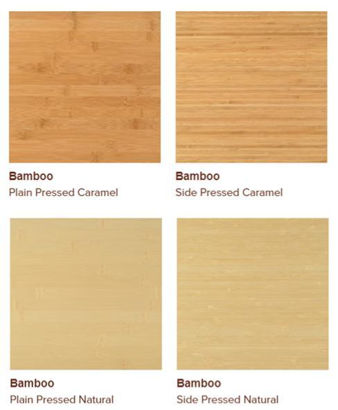 Bamboo veneers