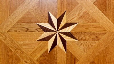 Marquetry and parquetry